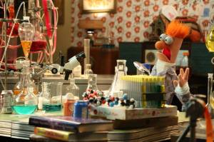 Muppets Sometimes scientific discovery requires a meep of faith