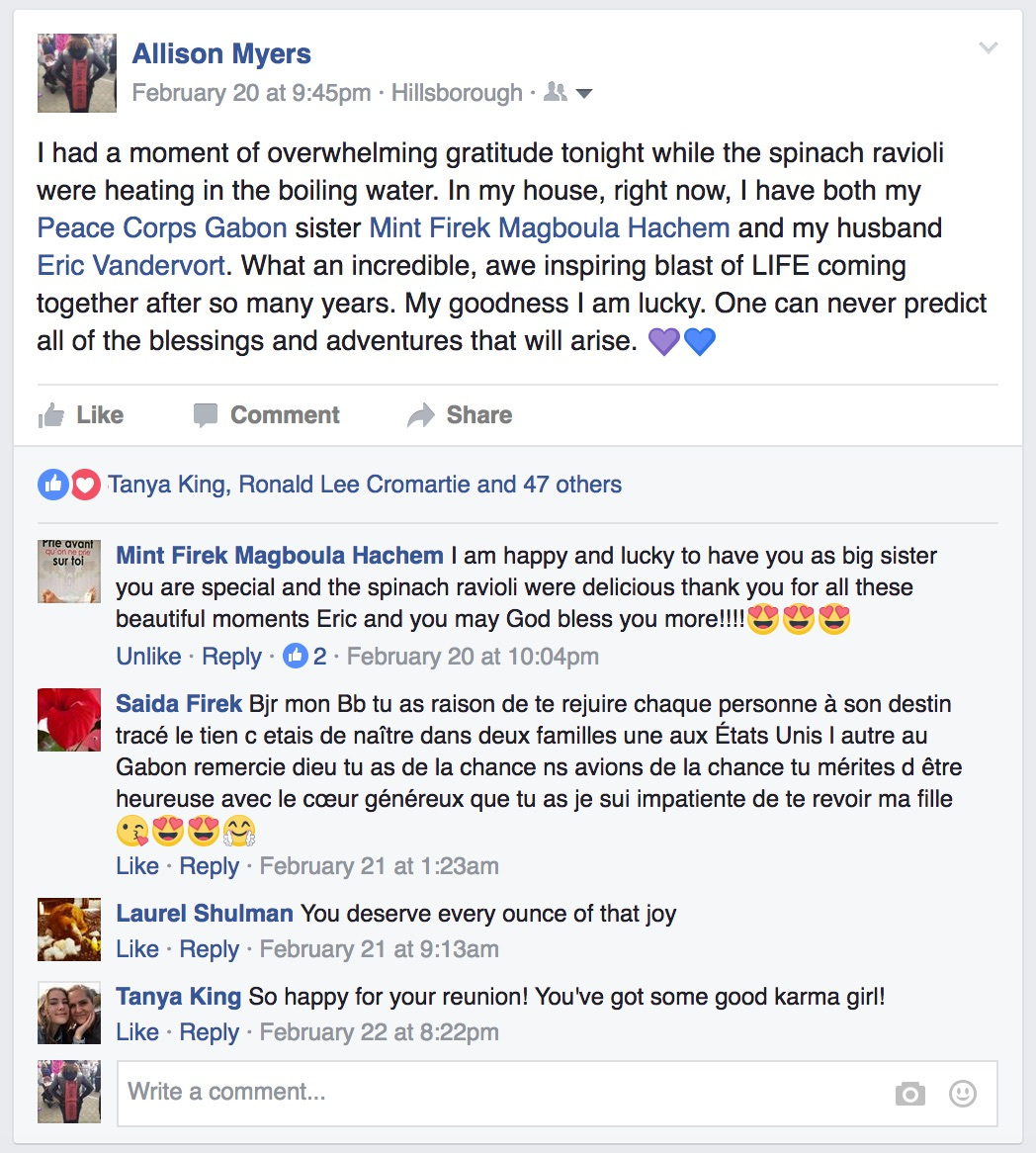 FB post spinach ravioli